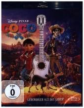 Coco - Lebendiger als das Leben!, 1 Blu-ray Cover