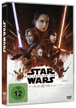 Star Wars: Die letzten Jedi, 1 DVD