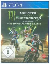 Monster Energy Supercross, 1 PS4-Blu-ray Disc