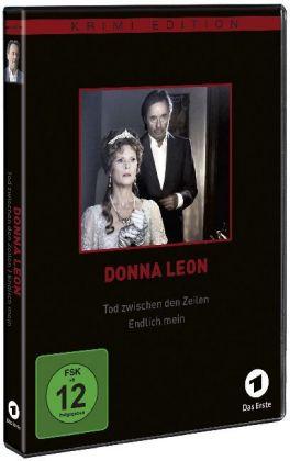 Donna Leon: Tod zwischen den Zeilen / Endlich mein, 1 DVD