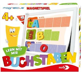 Magneticus Lern mit mir - Buchstaben (Kinderspiel)