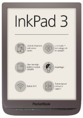 Pocketbook InkPad 3 - dark brown, E-Book Reader