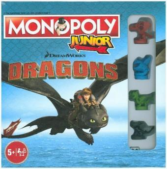 Monopoly Junior, Dragons Collector's Edition (Kinderspiel)