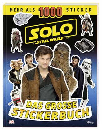 Solo: A Star Wars Story - Das große Stickerbuch