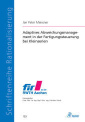 Adaptives Abweichungsmanagement in der Fertigun...