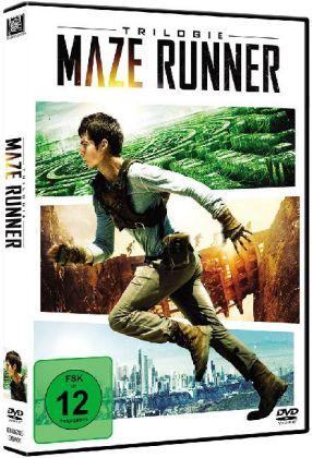 Maze Runner Trilogie, 3 DVDs