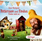 Pettersson und Findus - Findus zieht um, 1 Audio-CD Cover