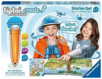 CREATE Starter-Set: Stift und Weltreise-Buch