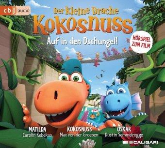 Der kleine Drache Kokosnuss - Auf in den Dschungel, 1 Audio-CD