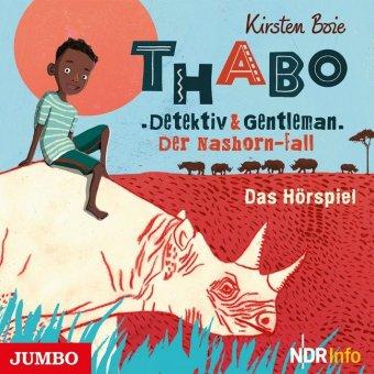 Thabo. Detektiv und Gentleman - Der Nashorn-Fall., 1 Audio-CD