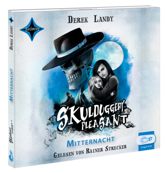 Skulduggery Pleasant - Mitternacht, 2 MP3-CDs