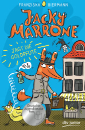 Jacky Marrone jagt die Goldpfote Cover