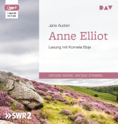Anne Elliot oder Die Kunst der Überredung, 1 MP3-CD Cover