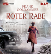 Roter Rabe. Ein Fall für Max Heller, 1 MP3-CD Cover