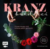 Kranzbinderei - Flower Hoops und Kränze selbst gemacht Cover