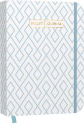 """Bullet Journal """"Geometric Blue"""" 05 Cover"""