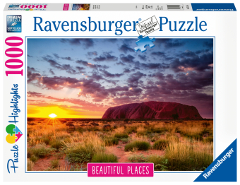 Ayers Rock in Australien (Puzzle)