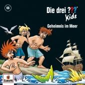 Die drei ??? Kids - Geheimnis im Meer, 1 Audio-CD Cover