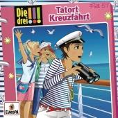 Die drei !!! - Tatort Kreuzfahrt, 1 Audio-CD Cover