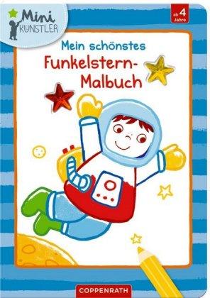 Mein schönstes Funkelstern-Malbuch - Astronaut