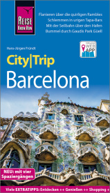 Reise Know-How CityTrip Barcelona mit 4 Stadtsp...