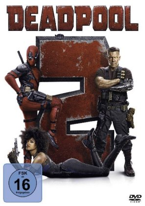 Deadpool 2, 1 DVD