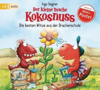 Der kleine Drache Kokosnuss - Die besten Witze aus der Drachenschule, 1 Audio-CD