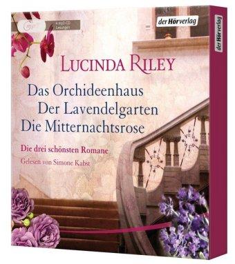 Das Orchideenhaus - Der Lavendelgarten - Die Mitternachtsrose, 4 MP3-CDs