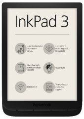 Pocketbook InkPad 3 - black, E-Book Reader
