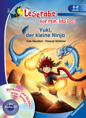 Yuki, der kleine Ninja, m. Audio-CD Cover