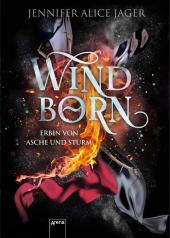 Windborn. Erbin von Asche und Sturm Cover