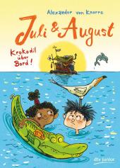 Juli & August - Krokodil über Bord Cover