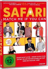 Safari Match Me If You Can, 1 DVD Cover