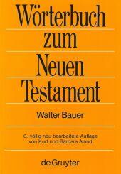 Wörterbuch zum Neuen Testament Cover
