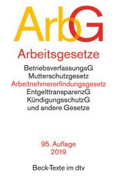 Arbeitsgesetze (ArbG) Cover