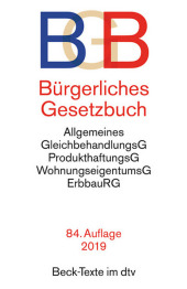 Bürgerliches Gesetzbuch (BGB) Cover