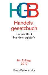 Handelsgesetzbuch (HGB) Cover