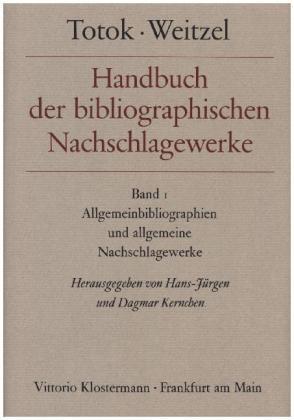 Allgemeinbibliographien und allgemeine Nachschlagewerke