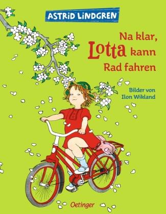 Na klar, Lotta kann radfahren