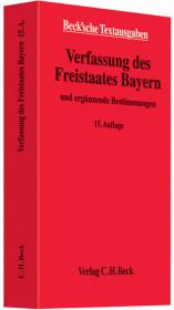 Verfassung des Freistaates Bayern Cover