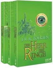 Der Herr der Ringe, 3 Bde. (Grüne Ausgabe) Cover