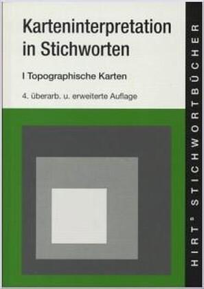 Karteninterpretation in Stichworten