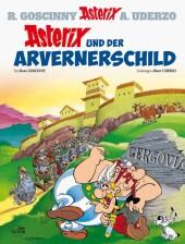 Asterix - Asterix und der Arvernerschild Cover