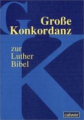Große Konkordanz zur Lutherbibel Cover