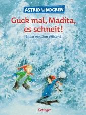 Guck mal, Madita, es schneit! Cover