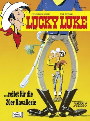 Lucky Luke - Lucky Luke reitet für die 20er Kavallerie