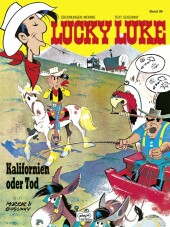 Lucky Luke - Kalifornien oder Tod Cover