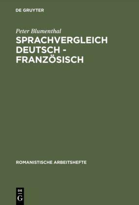 Sprachvergleich Deutsch-Französisch