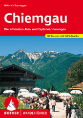 Rother Wanderführer Chiemgau Cover