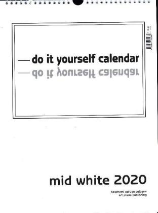 Mid White 2020 - Blanko Mid Format